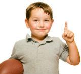 foto de niño con balon